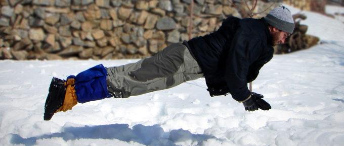 Landing in Snow